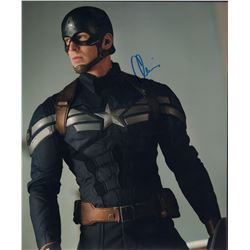 Chris Evans Captain America Signed 11x14 Photo