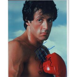 Sylvester Stallone Rocky Signed 11x14 Photo