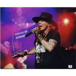 Axl Rose Guns N Roses Signed 11x14 Photo