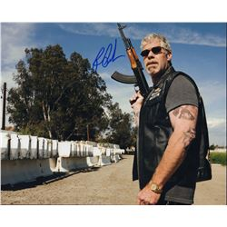 Ron Perlman Sons of Anarchy Signed 11x14 Photo
