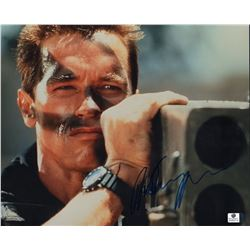Arnold Schwarzenegger Signed 11x14 Photo