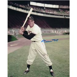 Willie Mays Signed 11x14 Photo