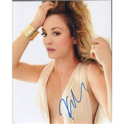 Kaley Couco Signed 11x14 Photo