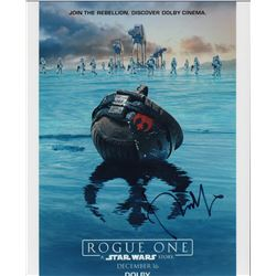 Donnie Yen Star Wars Rogue One Signed 11x14 Photo
