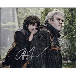 Issac Hempstead Kristian Marin Game of Thrones Signed 11x14 Photo