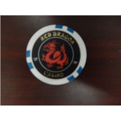 Prop Poker Chip Screen Used Rush Hour II