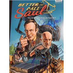 Better Call Saul Cast Signed 11x17 Photo