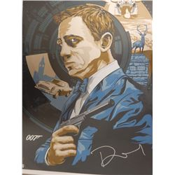 Daniel Craig Signed Skyfall Limited Edition Lithograph