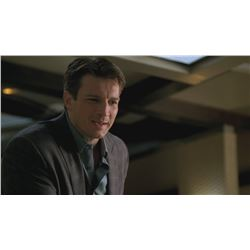 Nathan Fillion Castle Screen Worn Blazer Wrapped Up in Death