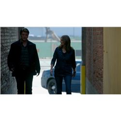 Nathan Fillion Castle Screen Worn Jacket Time of Our Lives
