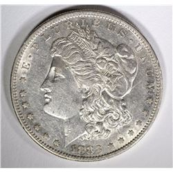 1883-S MORGAN DOLLAR, AU/BU