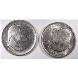 1923-S MONROE & 1926 SESQUI COMMEMS