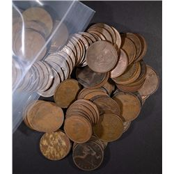 110 pcs GREAT BRITIAN LARGE PENNY