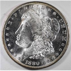 1880-S MORGAN DOLLAR, CH BU FLASHY