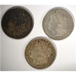 1921 P D & S MORGAN DOLLARS