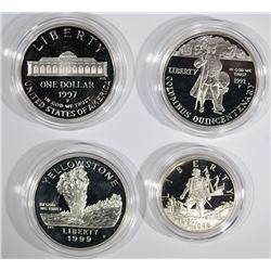 3-Silver Commemorative Sets