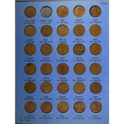 1909-40 LINCOLN CENT SET- VERY NICE CIRCS