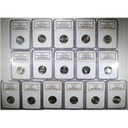 16- NGC GRADED STATE QUARTERS: SEE DETAILS