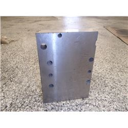 """Steel Right Angle Plate, Overall: 6"""" x 4"""" x 8"""""""
