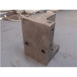 """Steel Right Angle Plate, Overall: 4"""" x 4"""" x 6"""""""