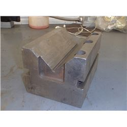 """Steel V-Plate, Overall: 5"""" x 7"""" x 4.25"""""""