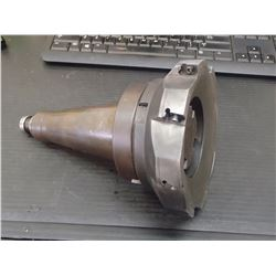 """NMTB50 Weldon Shell End Mill Holder with 6"""" Ingersoll Face Mill"""