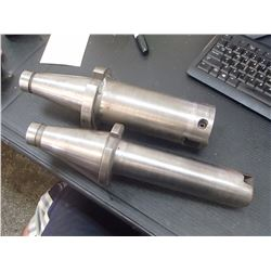 """NMTB50 Boring Bar Holders, 1/2"""" and 1"""" Capacities"""