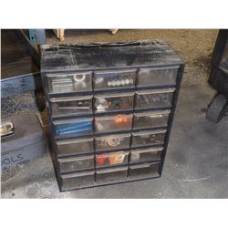 "18 Slot Tool Organizer with Contents, 14"" x 6.5"" x 18"""
