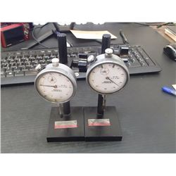 SPI Dial Gages with Stands, P/N: 20-700-1