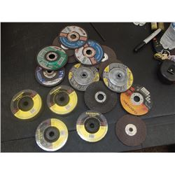 "Lot of Misc 4"" and 4.5"" Grinding Wheels"