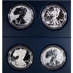 2012 & 2013 American Eagle Two Piece Proof Silver