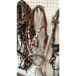 Complete Hackamore Bridle With Cotton Macate