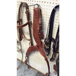 Heavy Duty Roper Breast Collar With Double Tugs