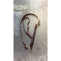 Leather Noseband Tie Down