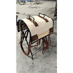 Complete Rigged Decker Pack Saddle