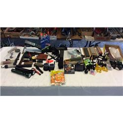 Huge Lot Of Hunting Camping Misc