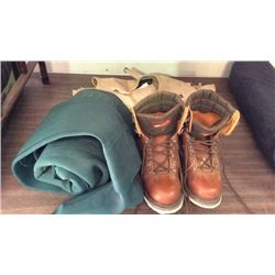 Waders Boots And Fishing Vest