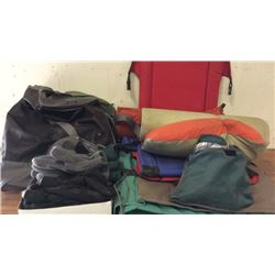 Lot Of Camping Bags Mats And Misc