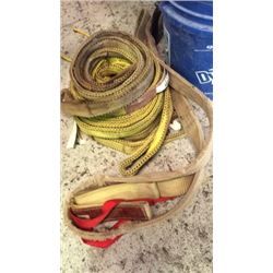 Lot of 7 tow straps