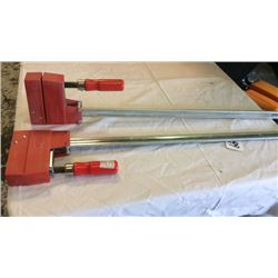 "2 "" Bessey"" clamps"