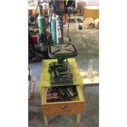"""""""Central machinery"""" drill press (model 586) with"""