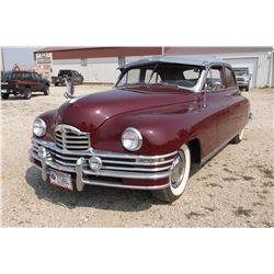 1948 Packard Super Eight- 4 Door Sedan- 22nd Series- 327 Flathead Straight Eight- 3 Speed Manual Tra