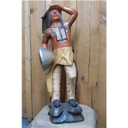 Cigar Store Indian- 36""