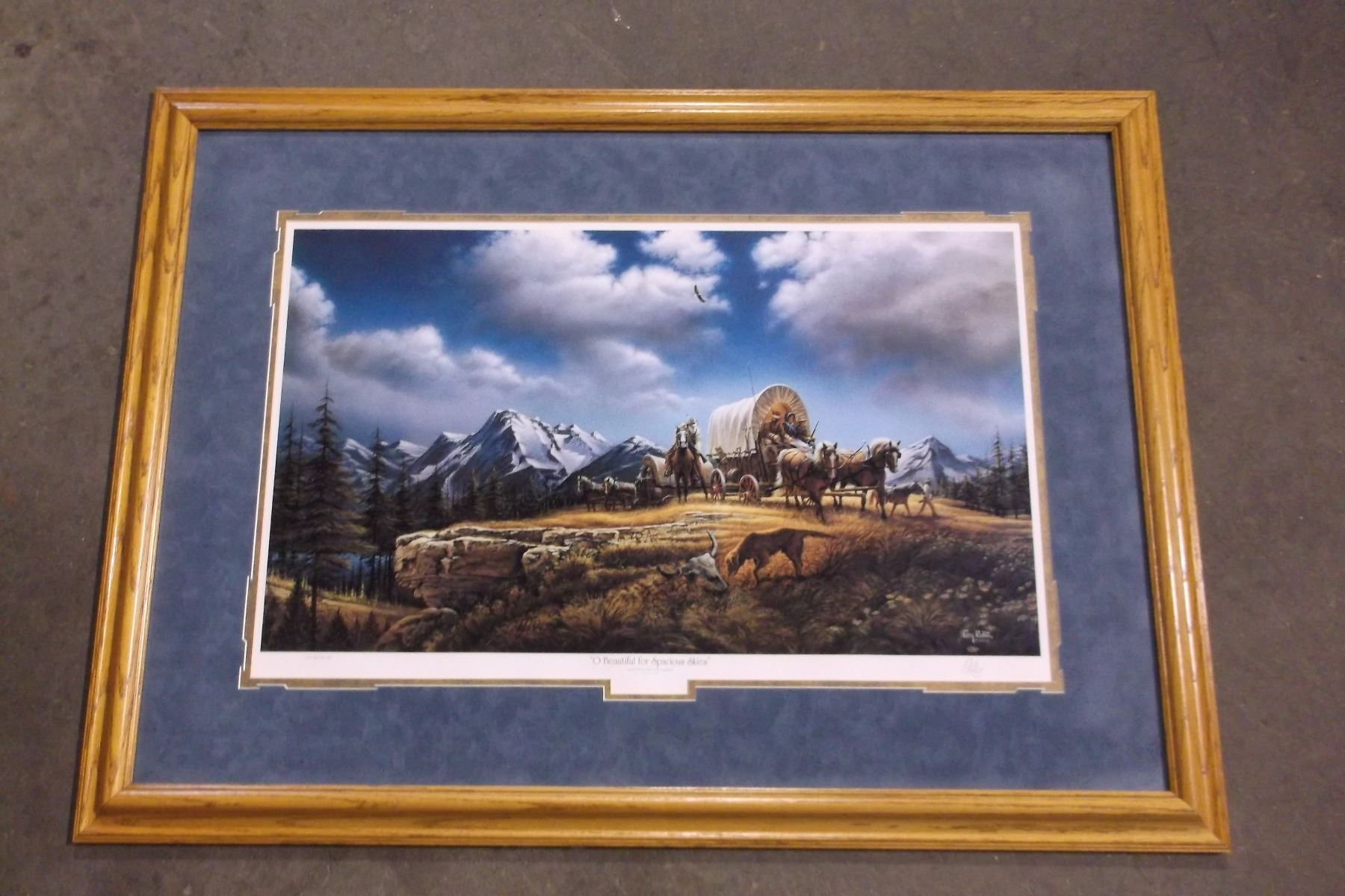 Signed Terry Redlin Print- \