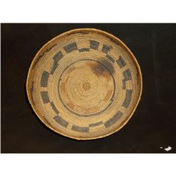 """California Basket- Red Bud and Willow Construction- Interior Stain- 2.5""""H X 8.5"""" W"""