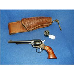 "Ruger Single Six New Model .22-.22Mag Revolver- 6.5"" Barrel- Handmade Viking Holster #268-54331"