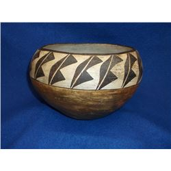 "Early Acoma Pot- Hand Coiled- 5.5""H X 7.5""W"