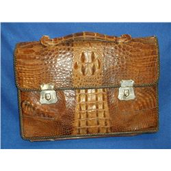 "Alligator Briefcase- 11""H X 16""W"