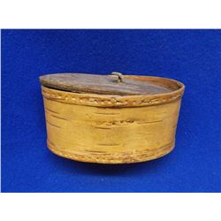 "Bark Covered Box- Lid- 3""H X 5.5""L"