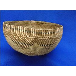 "Northwest Basket- C.1900- 3.5""H X 8""W"
